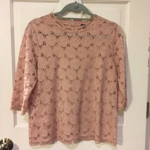 J. Crew Collection Flowered Blouse